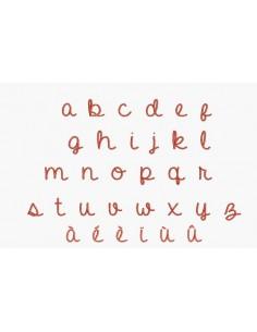 Instant download machine embroidery design school alphabet