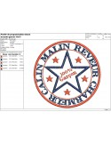 Instant download machine embroidery design tag boy
