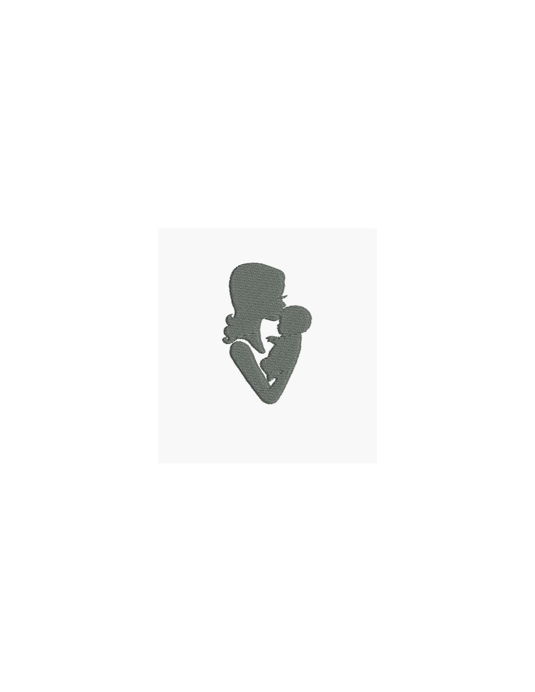 07763062968 Instant download machine embroidery design mother and baby - Alice ...