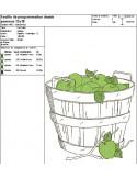 Instant download machine embroidery little gardener