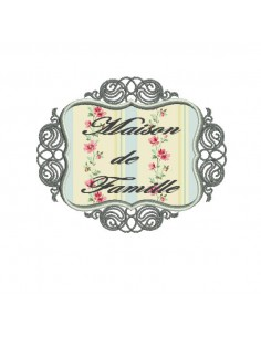 Instant download machine embroidery applique antique frame