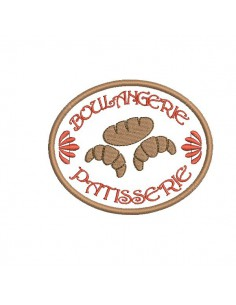 Instant download machine embroidery design bakery pastry