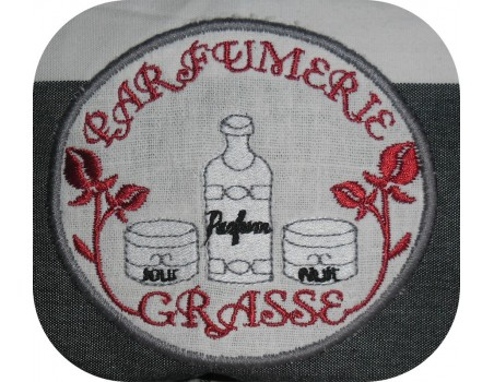 Instant download machine embroidery design perfumery