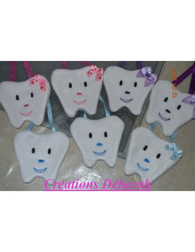 Instant download machine embroidery bag tooth