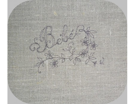 Instant download machine embroidery design Flower cluster