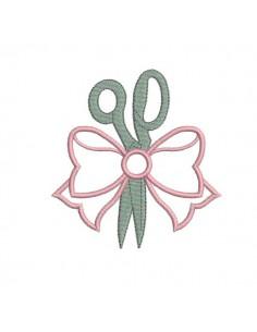 embroidery design scissors