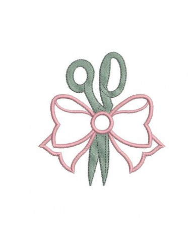 embroidery design scissors