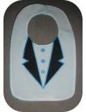 machine embroidery design  Bib collar polo  ITH