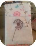 Motif de broderie  fleur de pissenlit 2
