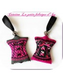 machine embroidery design  Bib butterfly bow ITH